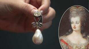 جواهر ماری آنتوانت: مرواریدی که به الماس وصل است یک جواهر استثنایی شناخته شده است