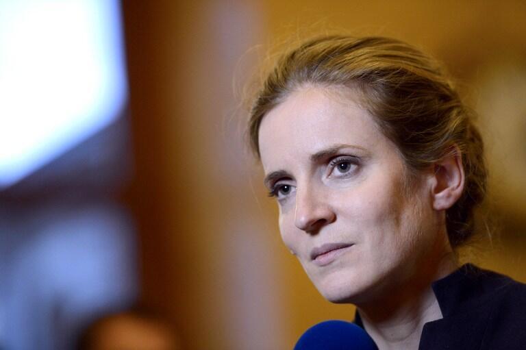 法国右翼政党人民运动联盟议员娜塔丽•戈舒斯科-莫里采。图片摄于2012年11月27日