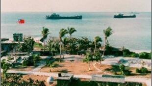 Đảo Ba Bình / Trường Sa, thuộc chủ quyền Việt Nam bị Đài Loan chiếm giữ (nguồn: unc.edu)