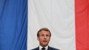 Presidente francês, Emmanuel Macron, 26 de Maio 2020.