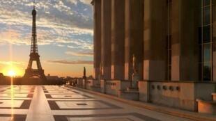 El museo del Hombre ocupa una parte del Palacio de Chaillot. Las obras de renovación duraron 6 años