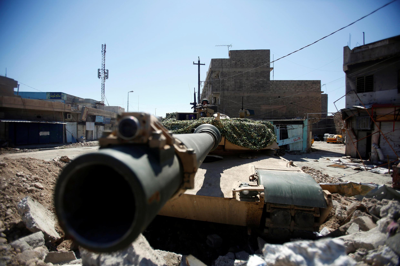 Luta em Mossul, cidade iraquiana.