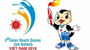 Logo của Đại hội thể thao bãi biển châu Á lần thứ 5 tổ chức tại Việt Nam, năm 2016.