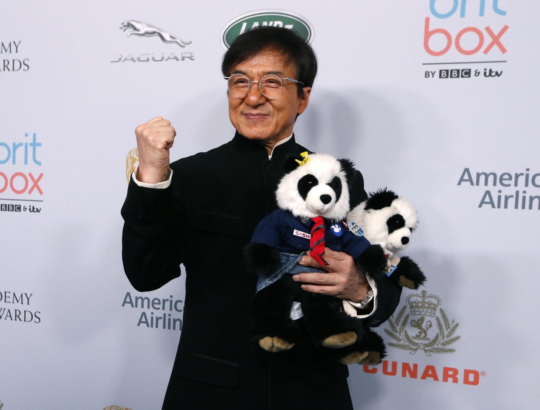 Diễn viên võ thuật Jacky Chan - Thành Long trong một buổi trao giải British Academy Britannia Awards 2019, Beverly Hills, California, ngày 25/10/2019.
