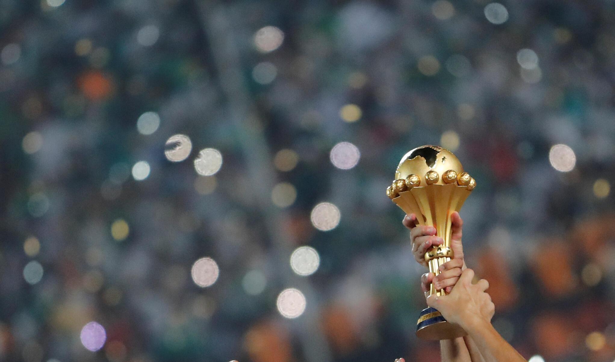 Troféu do Campeonato Africano das Nações.