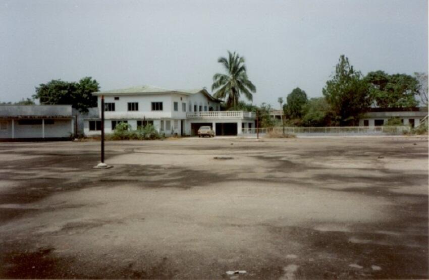 Дворец Беренго — резиденция экс-президента ЦАР Бокассы