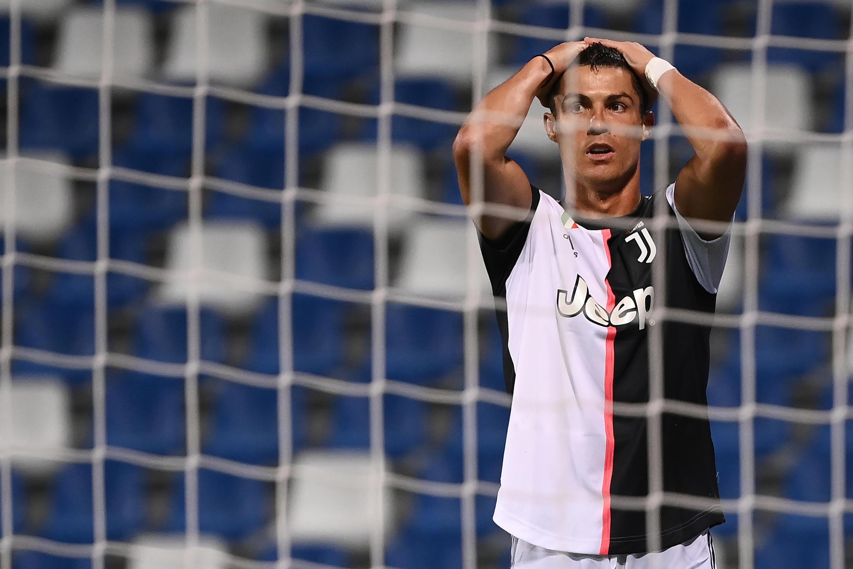 A Juventus, que contou com o internacional português Cristiano Ronaldo, empatou a três bolas frente ao Sassuolo.