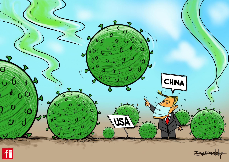 Covid19: China e Estados Unidos acusam-se mutuamente da origem da pandemia de Covid-19, que já matou mais de 300.000 pessoas no mundo.