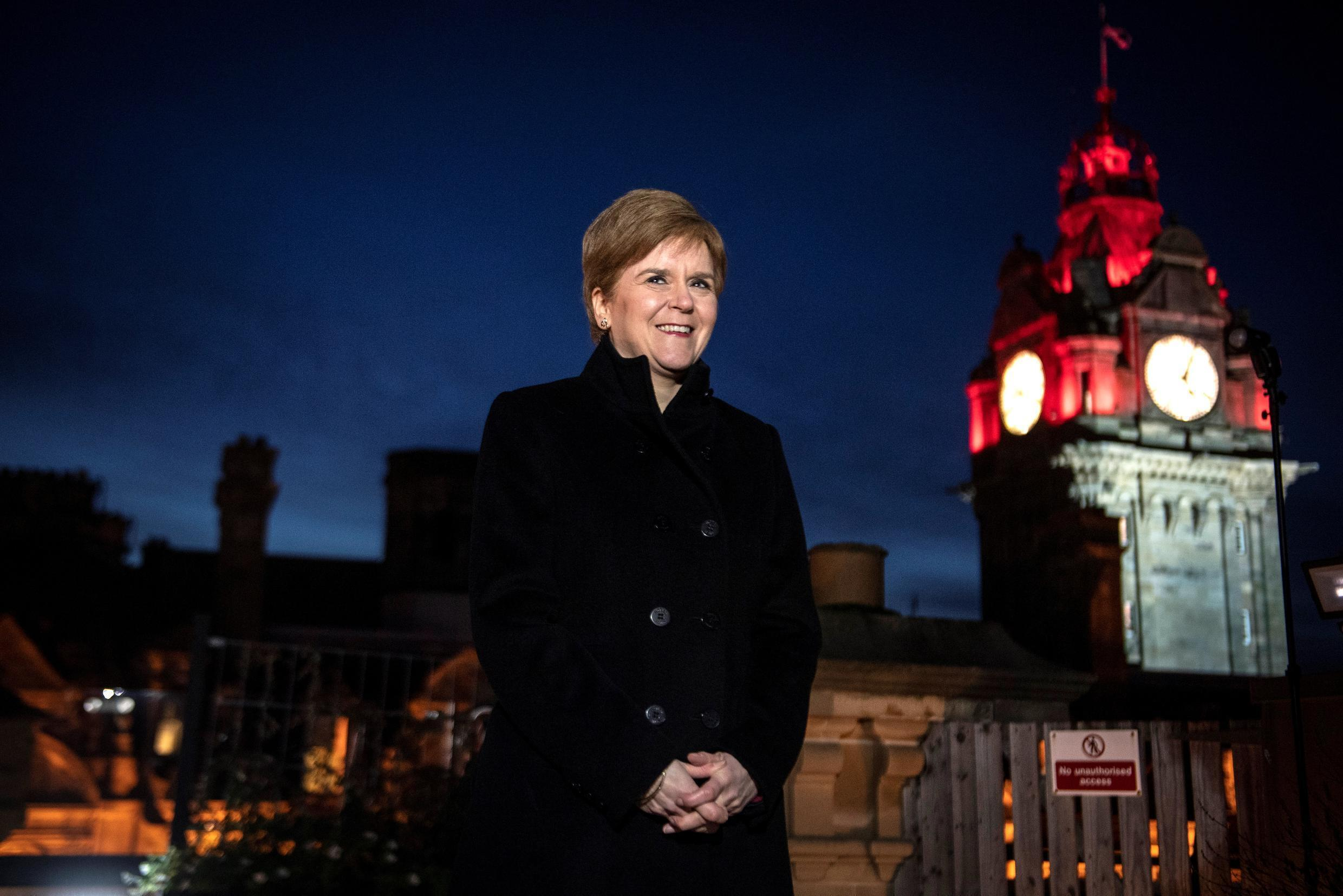 Scotland's First Minister Nicola Sturgeon intends to use the May vote for the parliament in Edinburgh to make the case for a breakaway from the UK