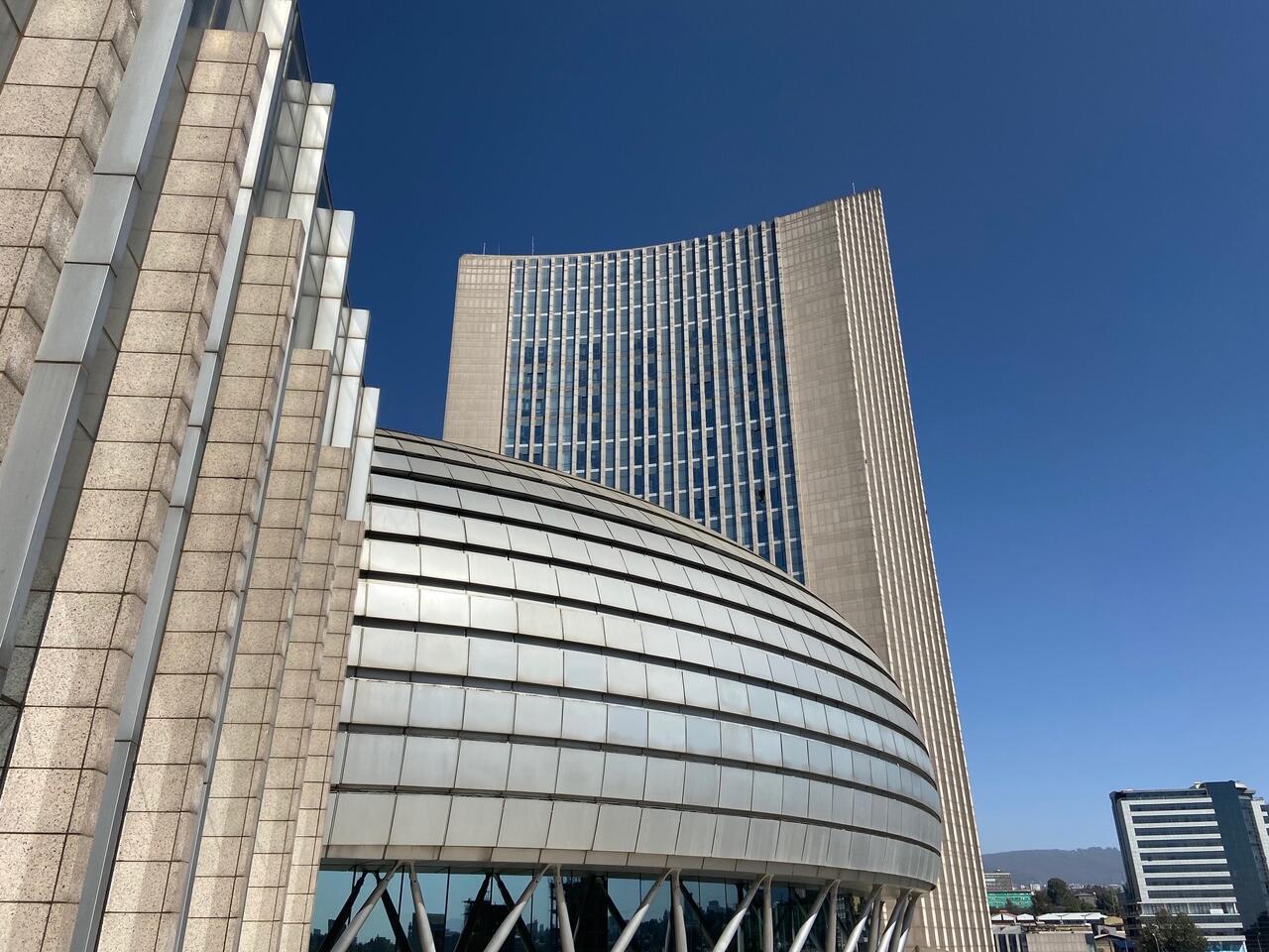Sede da União Africana em Addis Abeba