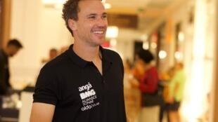 O tenista brasileiro, Bruno Soares.