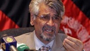ژنرال محمد ظاهر عظیمی، سخنگوی وزارت دفاع افغانستان