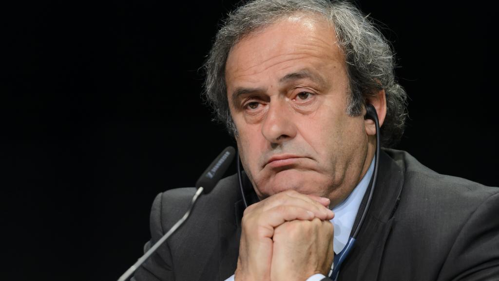 Michel Platini Mei 2015 katika mkutano wa FIFA, Zurich.
