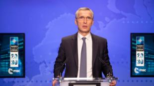 北約組織(NATO)秘書長斯托爾滕貝格資料圖片