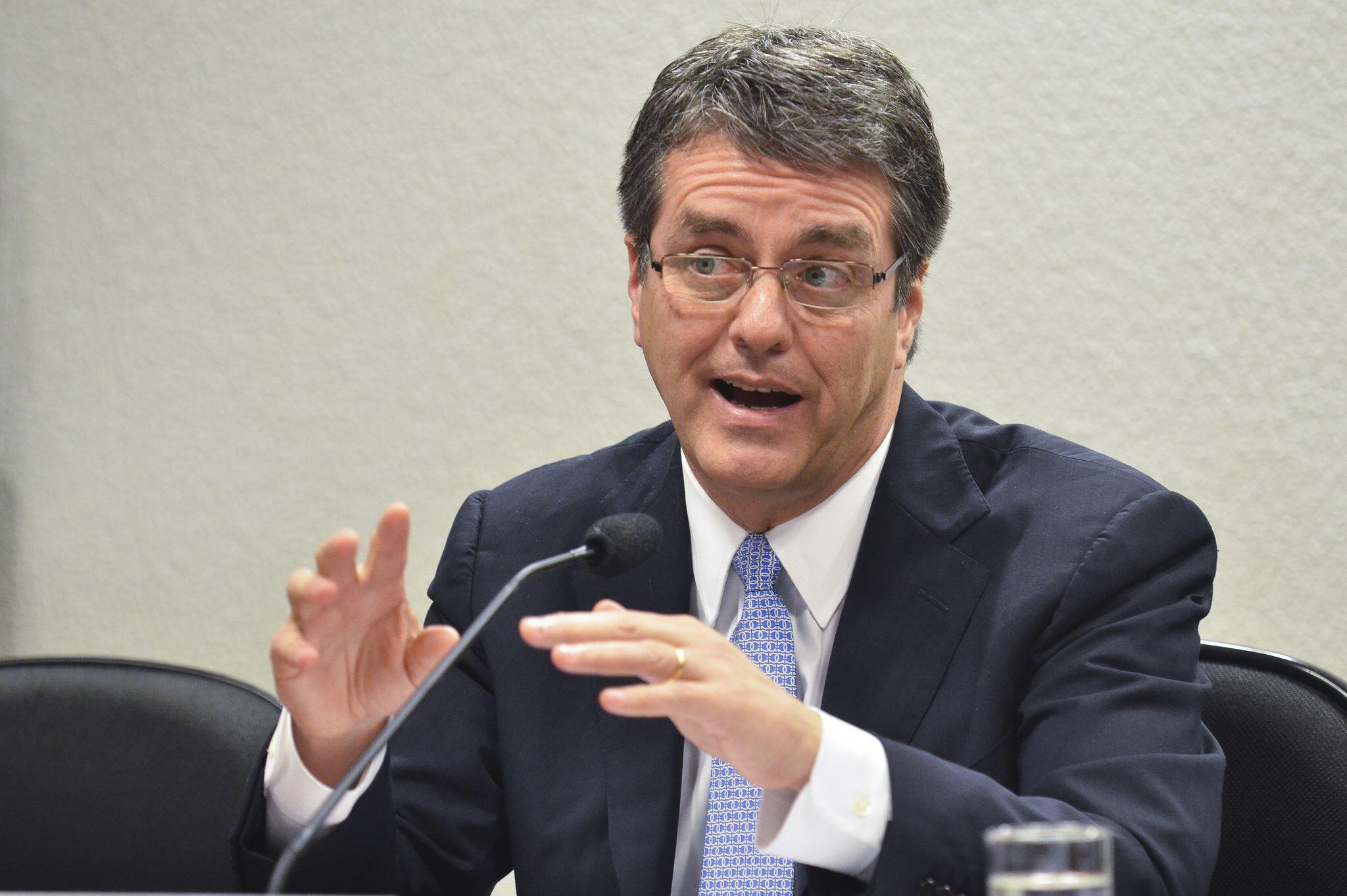 O diretor-geral da OMC, Roberto Azevêdo,