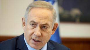 Le Premier ministre israélien Benjamin Netanyahu a rejeté mercredi l'idée de voir Mahmoud Abbas à Paris en marge d'une conférence.