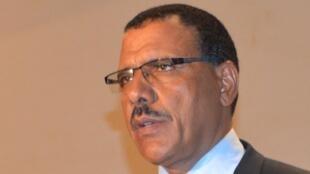 Mohamed Bazoum, le 13 mai 2016.