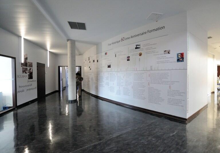 L'antenne de l'Institut du monde arabe, à Tourcoing.