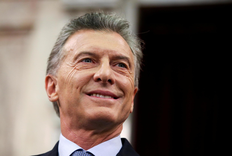 Argentina deixa a presidência do bloco, exibindo o troféu União Europeia como bandeira na campanha eleitoral do presidente Mauricio Macri.
