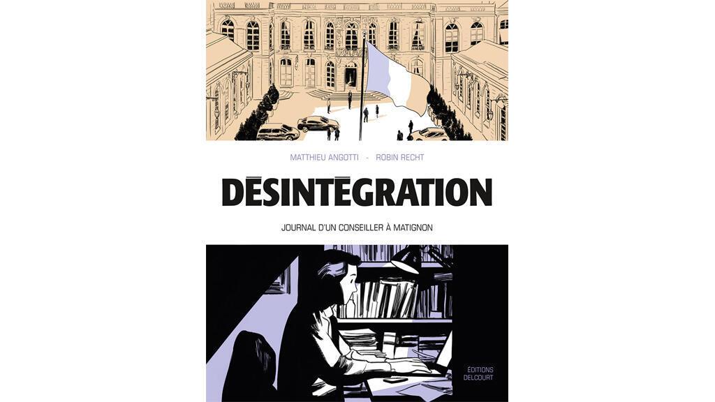 «Désintégration», de Matthieu Angotti et  Robin Recht.