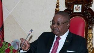 Presidente do Malawi  Peter Mutharika.
