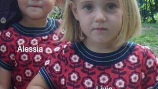 Livia e Alessa desapareceram no dia 30 de janeiro na Suiça.