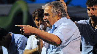 José Mujica lors de la campagne présidentielle