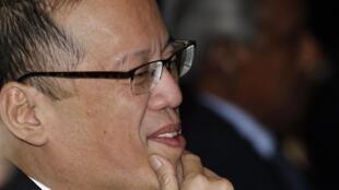 Benigno Aquino, le président philippin, le 7 mai 2011.