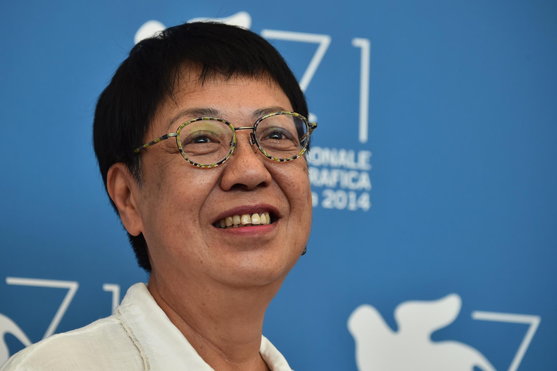 La réalisatrice hongkongaise Ann Hui recevra en septembre 2020 un Lion d'or pour l'ensemble de sa carrière. Ici lors de la Mostra de Venise en 2014.