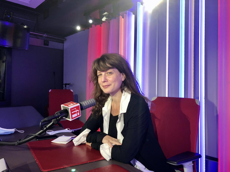 Sarah Chiche, écrivaine française en studio à RFI (septembre 2020).