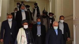 سفر طالبان به تهران