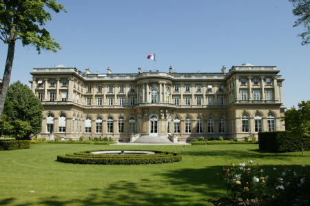 "Здание ""Quai d'Orsay"" МИД Франции."