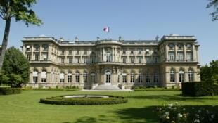 Jardins do Quai d'Orsay, sede da diplomacia francesa