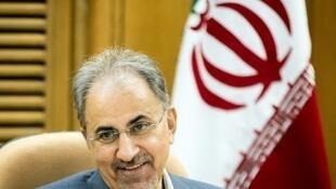 Mohammad-Ali Najafi, ancien maire de Téhéran.