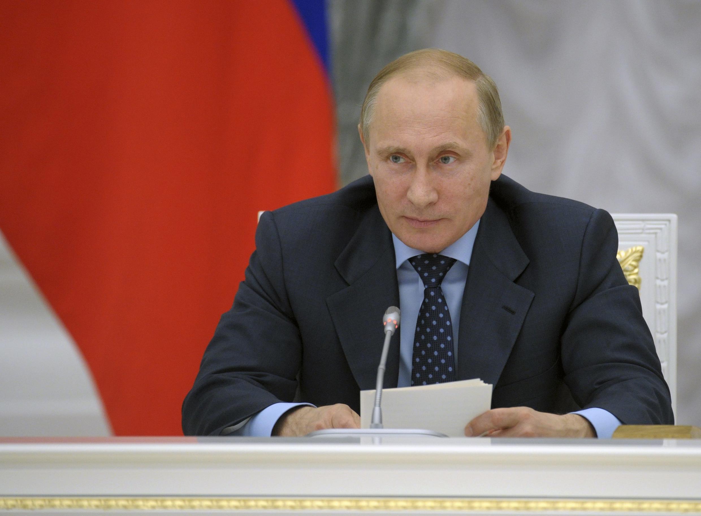 Shugaban kasar Rasha, Vladimir Putin