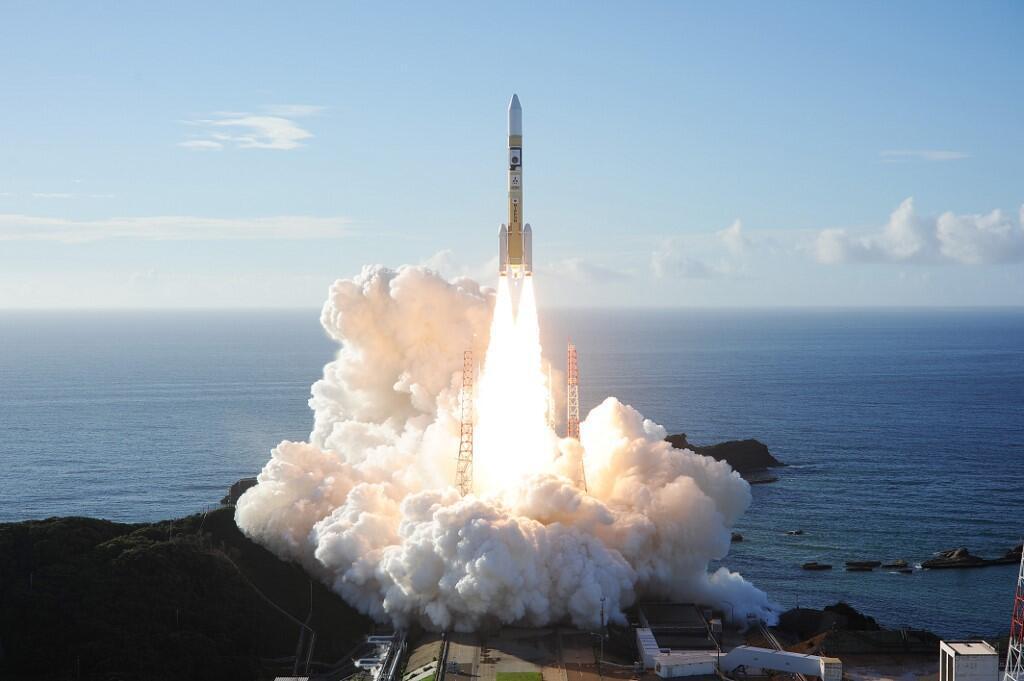 پرتاب کاوشگر «امید» از مرکز فضایی تانیگاشیما در ژاپن، ژوئیه سال ۲۰۲۰.