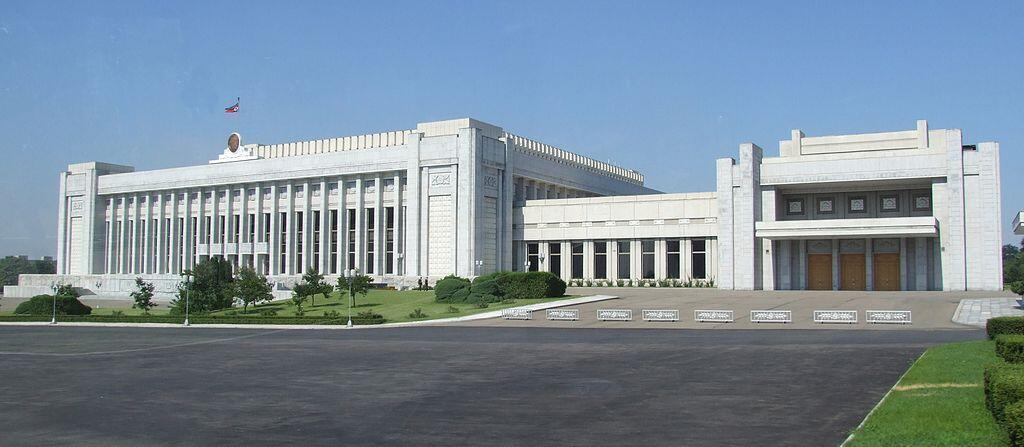 Tòa nhà Quốc Hội Bắc Triều Tiên.