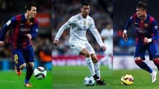 Ronaldo da Messi da Neymar ke takarar Ballon d'Or na bana