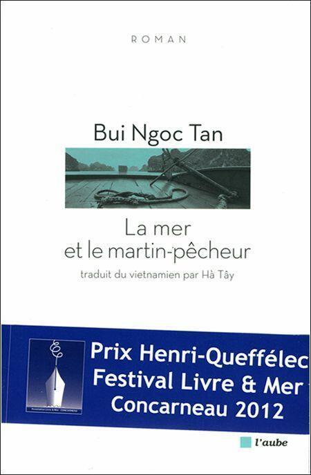 """Trang bìa cuốn """"La Mer et le Martin-pêcheur/Biển và Chim bói cá"""""""