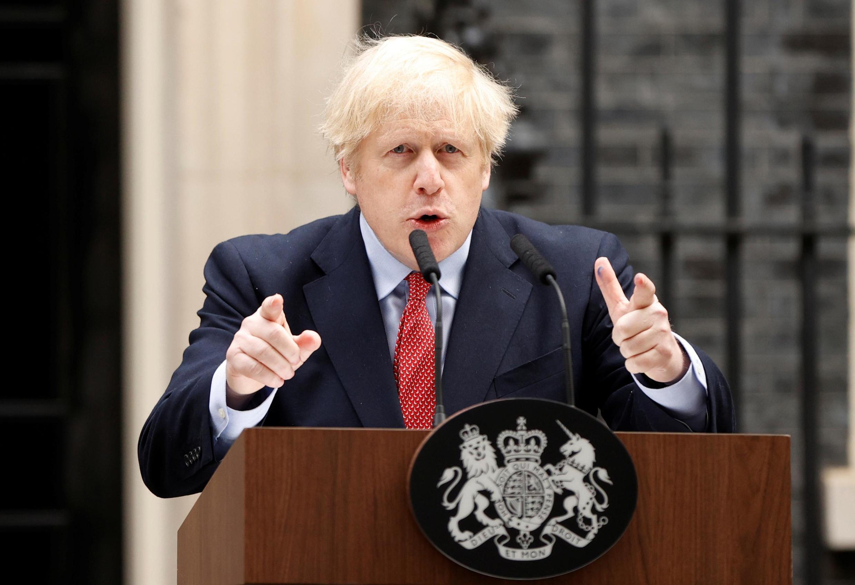 Boris Johnson retomou as rédeas do poder na Grã-Bretanha nesta segunda-feira depois de semanas de convalescência devido ao coronavírus.