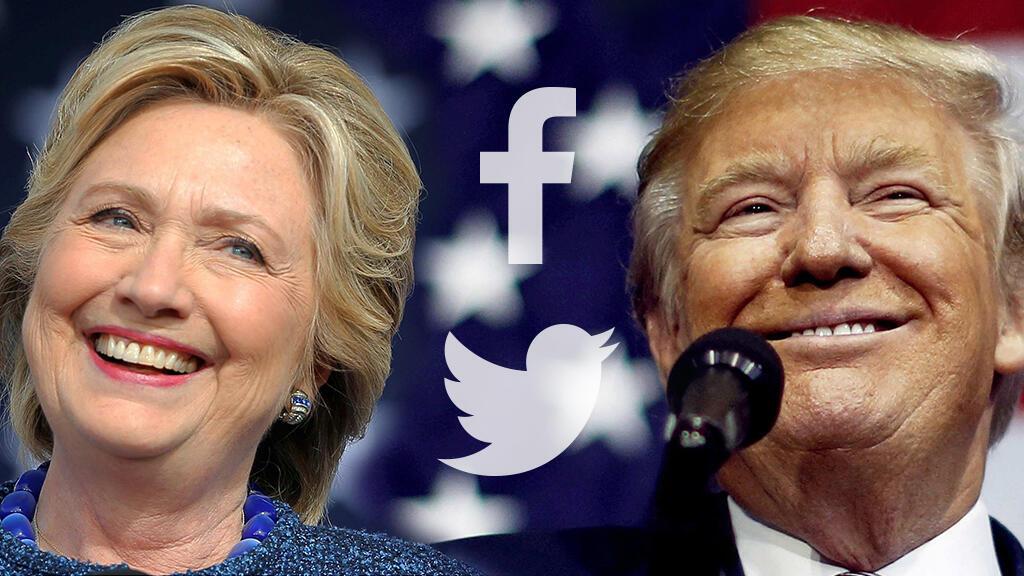 Wagombea urais nchini Marekani Hillary Clinton na Donald Trump