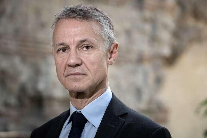 Глава Национальной антитеррористической прокуратуры Жан-Франсуа Рикар