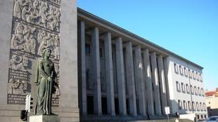 葡萄牙法院外景。