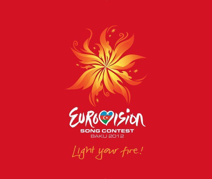 Logo oficial do Eurovision 2012, cuja final aconteceu no último dia 26 de maio, em Baku, capital do Azerbaijão.