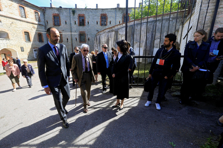 В тюрьму Патарей Филипп прибыл вместе с единственным живым сегодня очевидцем тех событий Анри Зажденвержье
