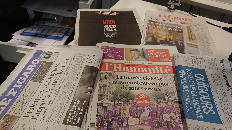 Diários franceses 25 11 2019