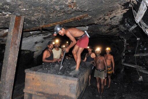 Un mine de charbon à Godavarikhani, en Inde, le 19 octobre 2010. Le pays dépend encore en grande partie du charbon pour sa consommation énergétique.