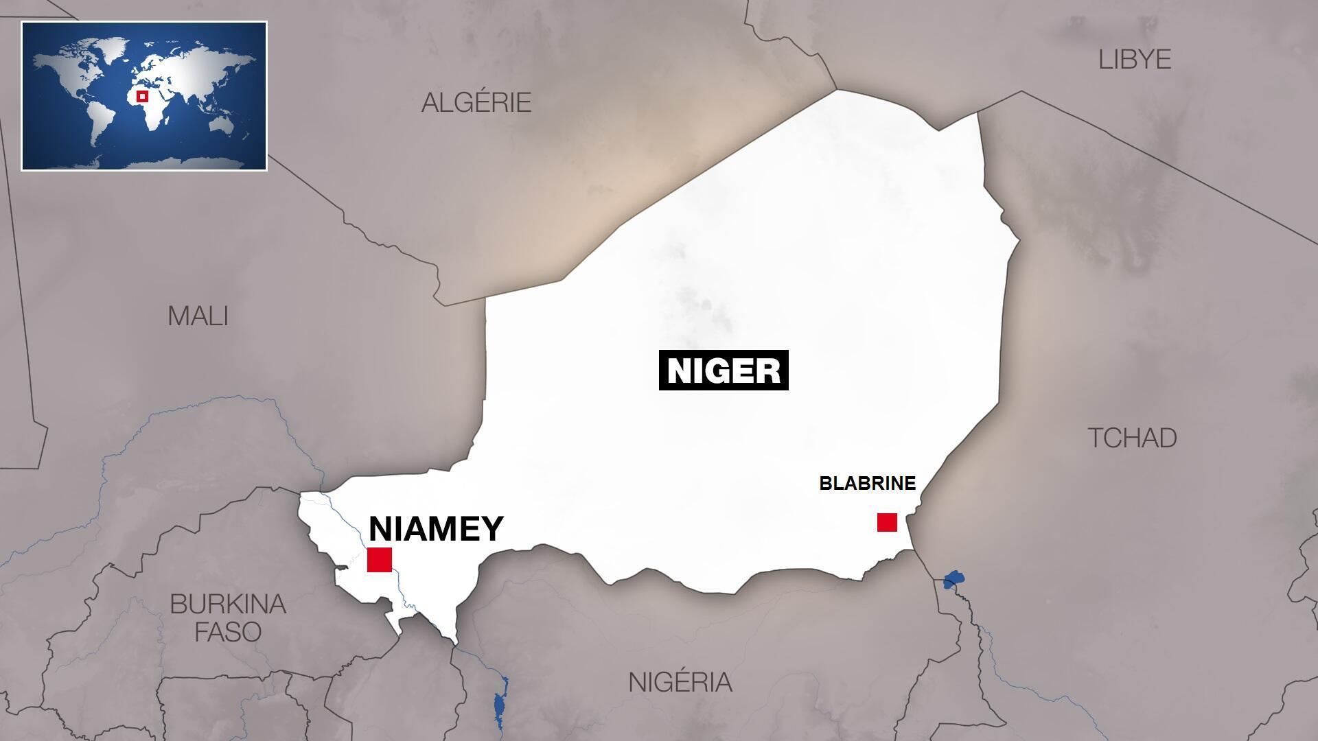 Blabrine, dans le sud-est du Niger.