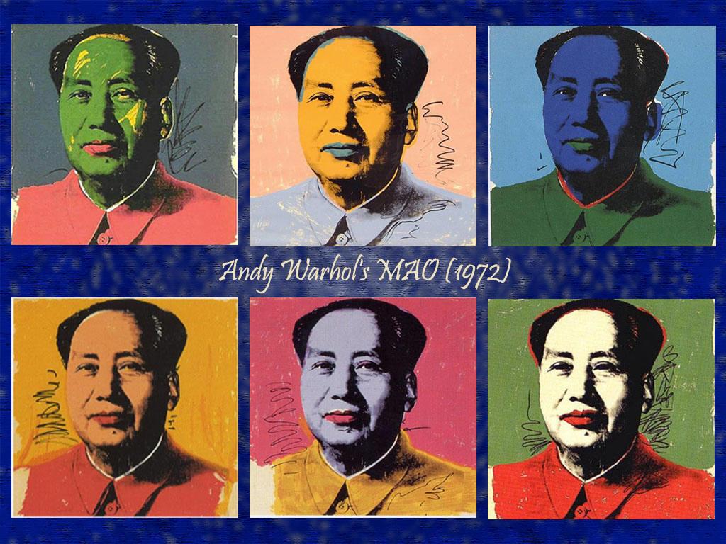 安迪∙沃霍尔的毛泽东肖像画作品