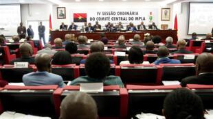 Wani zaman majalisar gudanarwar kasar ta Angola karkashin jagorancin jam'iyyar MPLA mai mulkin kasar.